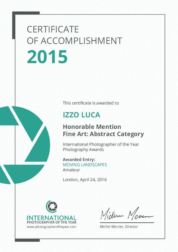 ipoty certificate 2015
