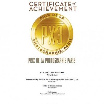 certificatepx32017lucaizzo